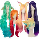 League of Leagends LOL Star Guardian Cosplay Wigs Miss Fortune/Soraka/Syndra/Ahri/Ezreal Wig Anime Cosplay Wigs CS-119