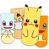 High Quality Charmander&Duckbill&Pikachu&Tortoise Girls Short Anime Cosplay Cartoon Socks CS001