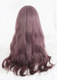 65cm Long Wave Taro Mixed Synthetic Party Hair Wigs Heat Resistant Anime Cosplay Lolita Wig CS-812A