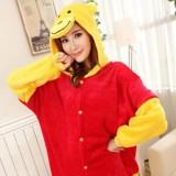 Adult Cartoon Flannel Unisex Winnie The Pooh Animal Onesies Anime Kigurumi Costume Pajamas Sets KT009