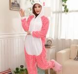 Adult Cartoon Flannel Unisex Hellokitty Animal Onesies Anime Kigurumi Costume Pajamas Sets KT003