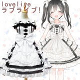 Lolita Dress Love Live Cosplay Costume Yazawa Nico Anime Cosplay Costume Maid Dress COS-175