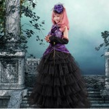 High Quality Vocaloid Luka HCosplay Dressalloween Party Lolita Dress Anime Cosplay Costume HD009