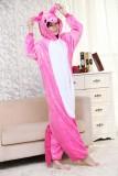 Adult Cartoon Flannel Unisex Rose Flying Horse Animal Onesies Anime Kigurumi Costume Pajamas Sets KT074
