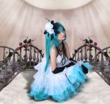 High Quality Vocaloid Miku Anime Lolita Dress Cosplay Costume HD002