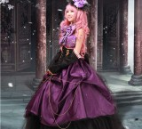High Quality Vocaloid Luka Dress Halloween Party Dress Anime Cosplay Costume HD003