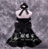 High Quality K-ON! Akiyama Mio Cosplay Halloween Party Lolita Dress Anime Cosplay Costume HD010