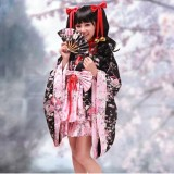 High Quality Cosplay Lolita Kimono Dress Anime Cosplay Costume HD001