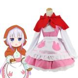 Kobayashi-san Chi no Maid Dragon Cosplay Costume Japanese Anime Role Play Kanna Kamui Costumes COS-183