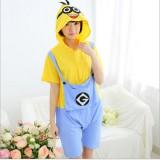 Adult Cartoon Cotton Unisex Minion Onesie Anime Kigurumi Costumes Pajamas Sets ST019