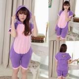Adult Cartoon Cotton Unisex Diana Summer Onesie Anime Kigurumi Costumes Pajamas Sets ST001