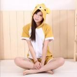 Adult Cartoon Cotton Unisex Rilakkuma Summer Onesie Anime Kigurumi Costumes Pajamas Sets ST013