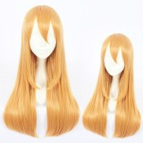 60cm Long Straight Orange Cells at Work Cosplay Wig Blood Platelet Anime Wig Synthetic Hair Wigs CS-380C
