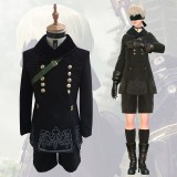 NieR:Automata Cosplay 9S Costume Anime Cosplay Costume With Clothes Gloves Bag Eyepatch COS-201