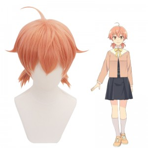 35cm Short Pink Bloom Into You Koito Yuu Wig Synthetic Anime Cosplay Hair Wigs CS-390B
