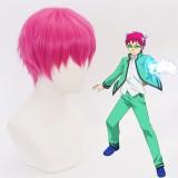 30cm Short Rose Saiki Kusuo no Psi Nan Saiki Kusuo Wig Synthetic Anime Cosplay Wig CS-388A