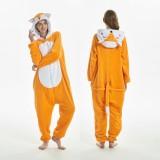 2019 New Adult Cartoon Flannel Unisex Unicorn Deer Tiger Fox Lion Animal Onesies Anime Kigurumi Costume Pajamas Sets