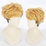 30cm Short Curly Blonde&Black Kyou Kara Ore Wa Cosplay Takashi Mitsuhashi Synthetic Anime Wig CS-397A
