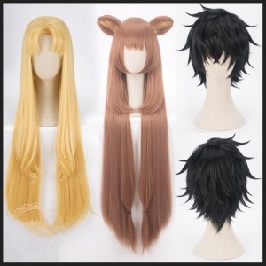Tate no Yuusha no Nariagari Anime Wig Raphtalia/Fillo/Naofumi Iwatani Wig Synthetic Cosplay Hair Wigs CS-470