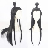80cm Long Straight Black Heavenly God Blesses The People Xie Ling Wig Synthetic Anime Cosplay Wigs CS-401A