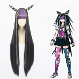 100cm Long Color Mixed Danganronpa Wig Mioda Ibuki Anime Synthetic Cosplay Hair Wigs CS-475A
