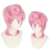 35cm Short Curly PinkJoJo