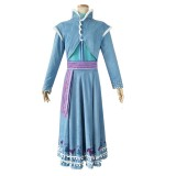 Full Set 2019 New Movie Frozen II Costume Anna Princess Anime Uniform Cloth Halloween Cosplay Costumes COS-338
