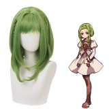 40cm Medium Long Green Mixed Toilet Bound Hanako kun Nanamine Sakura Wig Synthetic Anime Cosplay Wigs CS-426A
