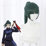 50cm Long Straight Green Jujutsu Kaisen Anime Maki Zen
