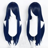 80cm Long Straight Promotion Wigs Multi Colors Synthetic Anime Hair Wig Heat Resistant Cosplay Wigs