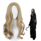 55cm Long Curly Brown Resident Evil Bela Wig Cosplay Synthetic Anime Hair Wigs CS-479A