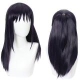 50cm Long Straight Dark Purple Jujutsu Kaisen Anime Iori Utahime Wig Synthetic Cosplay Hair Wigs CS-458M