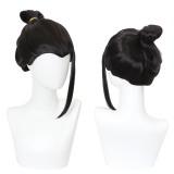 30cm Short Black Jujutsu Kaisen Geto Suguru Wig Cosplay Synthetic Anime Hair Wigs CS-458L